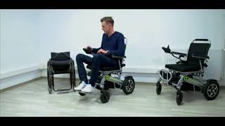Automatic Folding Electric Wheelchair -