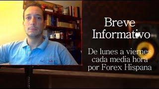 Breve Informativo - Noticias Forex del 9 de Agosto 2018