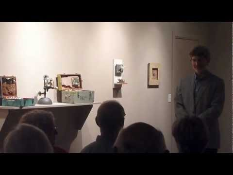 Tim Beckstrom, assemblage artist: Arts Studio Gallery Artist Talk