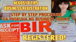 NEGOSYO TIPS: PAANO KUMUHA NG BUSINESS PERMIT / HOW TO APPLY BUSINESS PERMIT