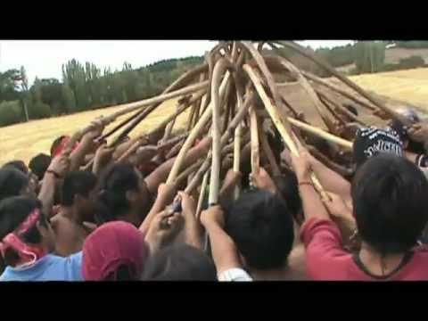 Palin en Territorio en Recuperación por la Comunidad Autónoma Temucuicui