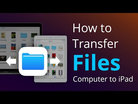 How To Transfer Files From Computer To IPad