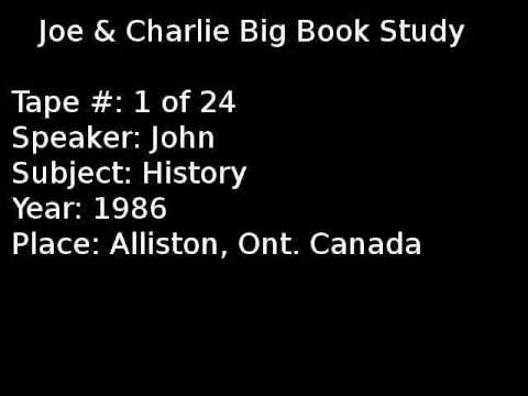 Joe & Charlie Big Book Study 1 Of 24
