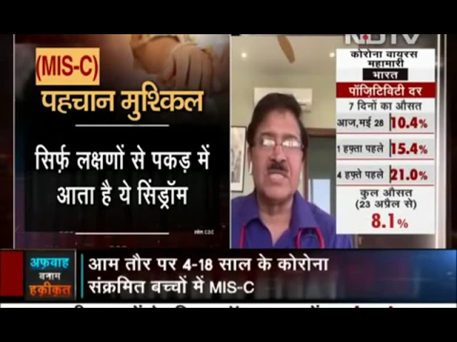 What is MIS-C and how to identify it? Know from Dr. Ravi Malik on NDTV India