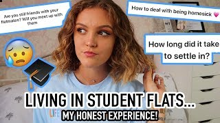MY EXPERIENCE MOVING INTO STUDENT FLATS.. What YOU NEED to know!!