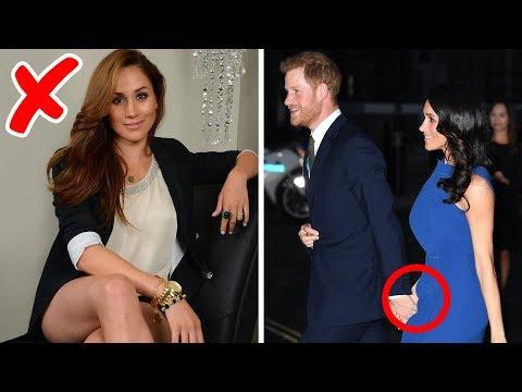 6 Reglas de la familia real que Meghan Markle ya ha roto