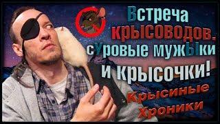 Милые крысы, и брутальные мужчИны! Встреча крысоводов в Москве. (Fancy Rats)
