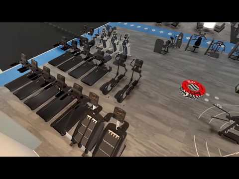 3D Gym Design And Walkthrough Video