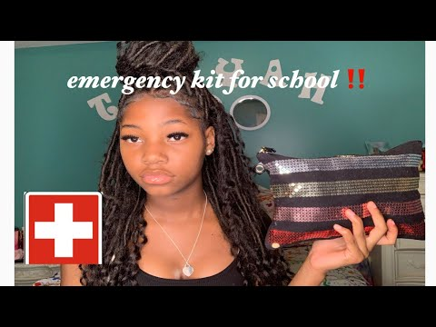 BACK TO SCHOOL EMERGENCY KIT ( EVERYTHING YOU NEED)
