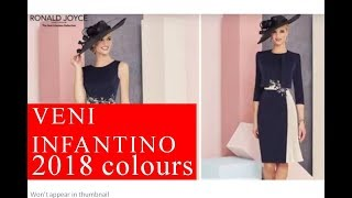 2018 colours from Veni Infantino for mothers of the bride