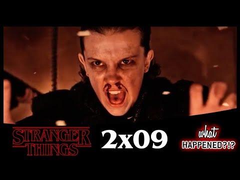 STRANGER THINGS 2x09 Recap: