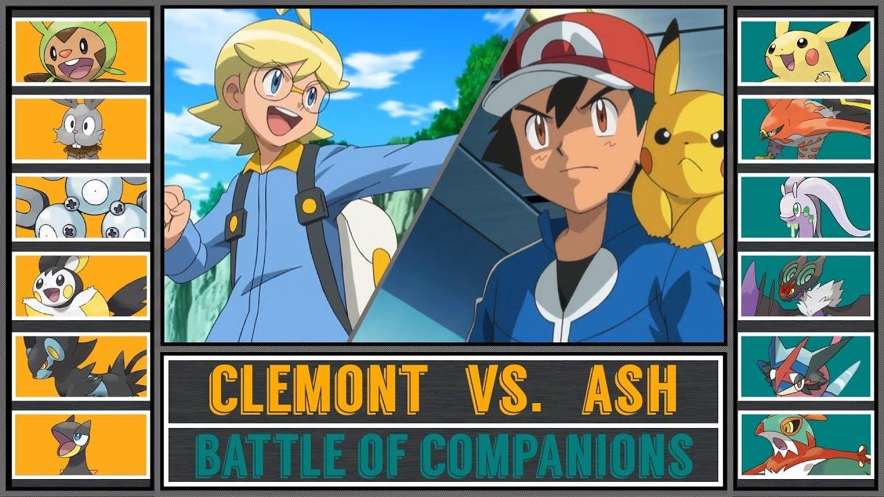 Ash Vs Clemont