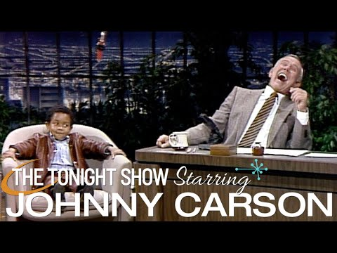 Emmanuel Lewis is Hilarious in This Classic First Appearance on Carson Tonight Show