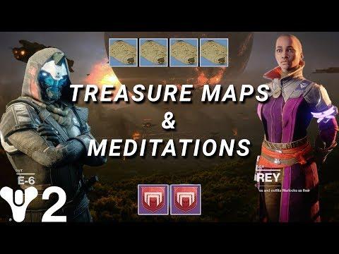 Destiny 2: Cayde's Treasure Maps & Ikora's Meditations! Overview of Vanguard Activities!