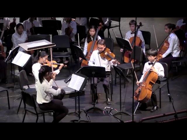 01 7th Grade Quartet Eine Kleine Nachtmusik, Allegro Mozart