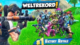 Reaktion auf *WELTREKORD* 21 KILLS in 5 SEKUNDEN! Fortnite Battle Royale