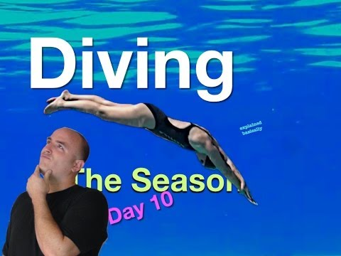 Diving Swim Lesson 'The Season Day 10' Helpful tips on how to swim #swimlesson #diving