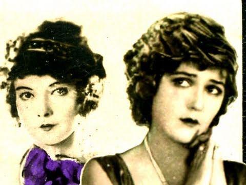 Rare 1920's Silent Movie Stars Lillian Gish Mary Pickford Fashion Hair Ruby Trading Cards 1923