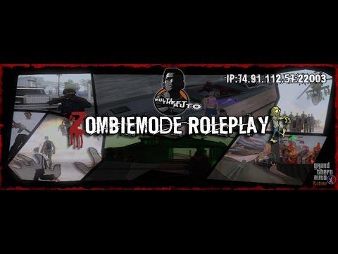 ZombieMode Roleplay | Gran Server De Zombies MTA |