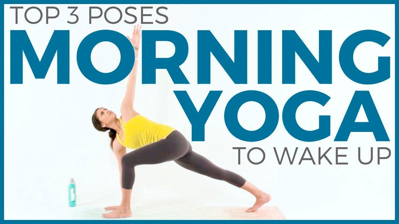 Morning Yoga Poses To Wake Up Sarahbethyoga