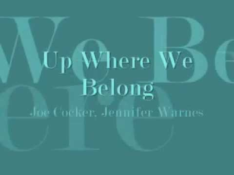 Up Where We Belong Lyrics