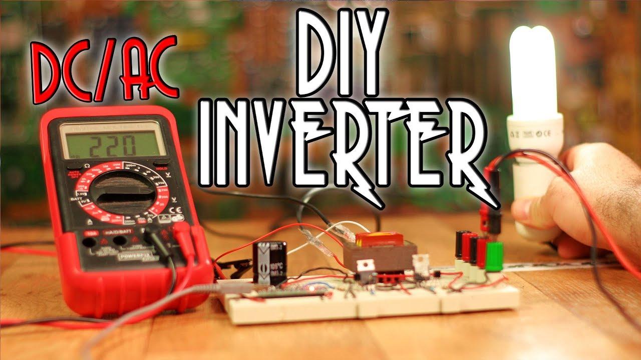 Diy Inverter Tutorial Arduino Or 555 Youtube 12v Power Using