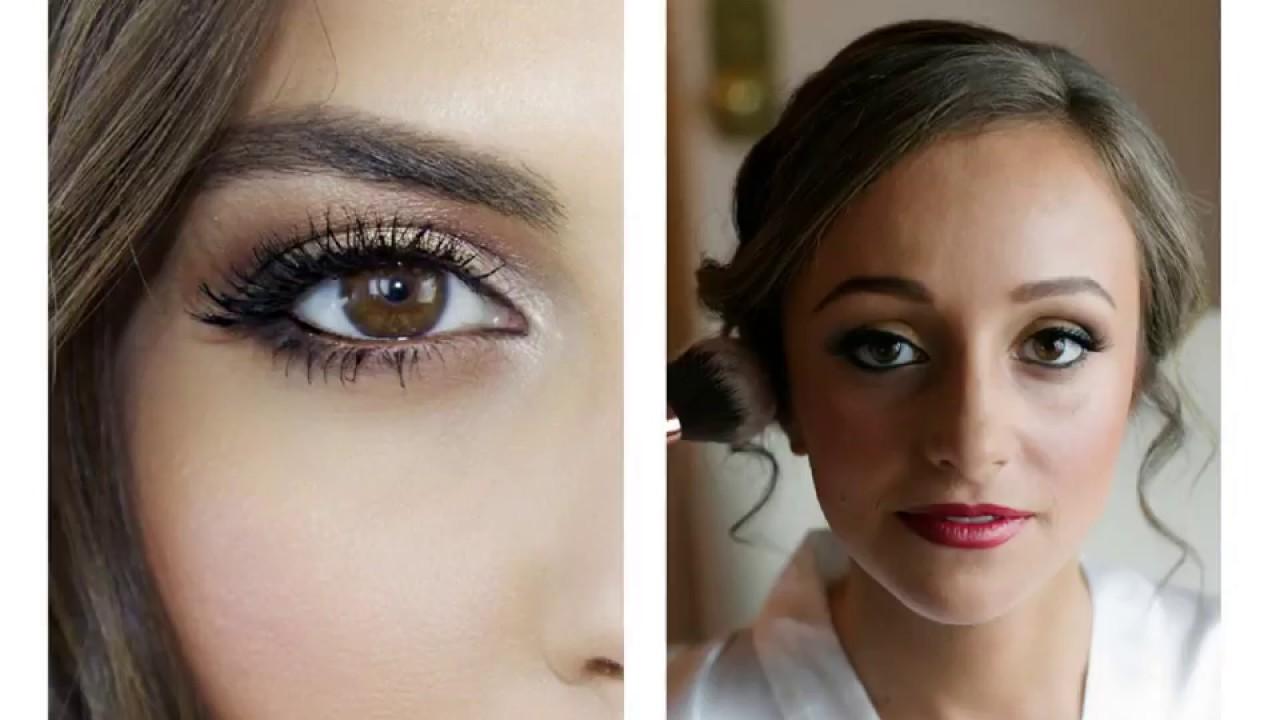 Bridal Makeup Brown Eyes Hair