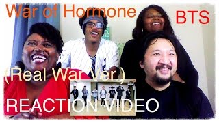 Video BTS War of Hormone REAL War Ver. K-Pop Reaction (Request) download MP3, 3GP, MP4, WEBM, AVI, FLV Mei 2018