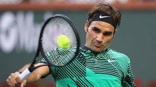 Roger Federer - Top 10 Backhand Return Winners of 2017