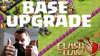 [facecam] BASE UPGRADE || CLASH OF CLANS || Let's Play COC [Deusch/German HD]