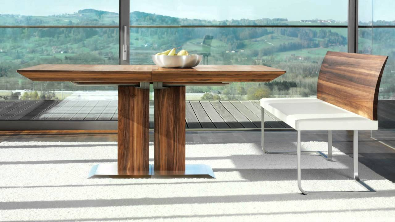Team7 luxury wood dining room furniture wharfside Luxury wood furniture