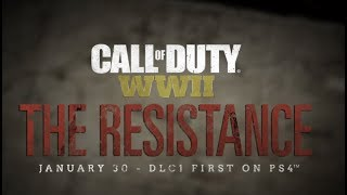 CALL OF DUTY: WWII THE RESISTANCE DLC STREAM! THE DARKEST SHORE, NEW MP MAPS & EPIC WAR EXPERIENCE!