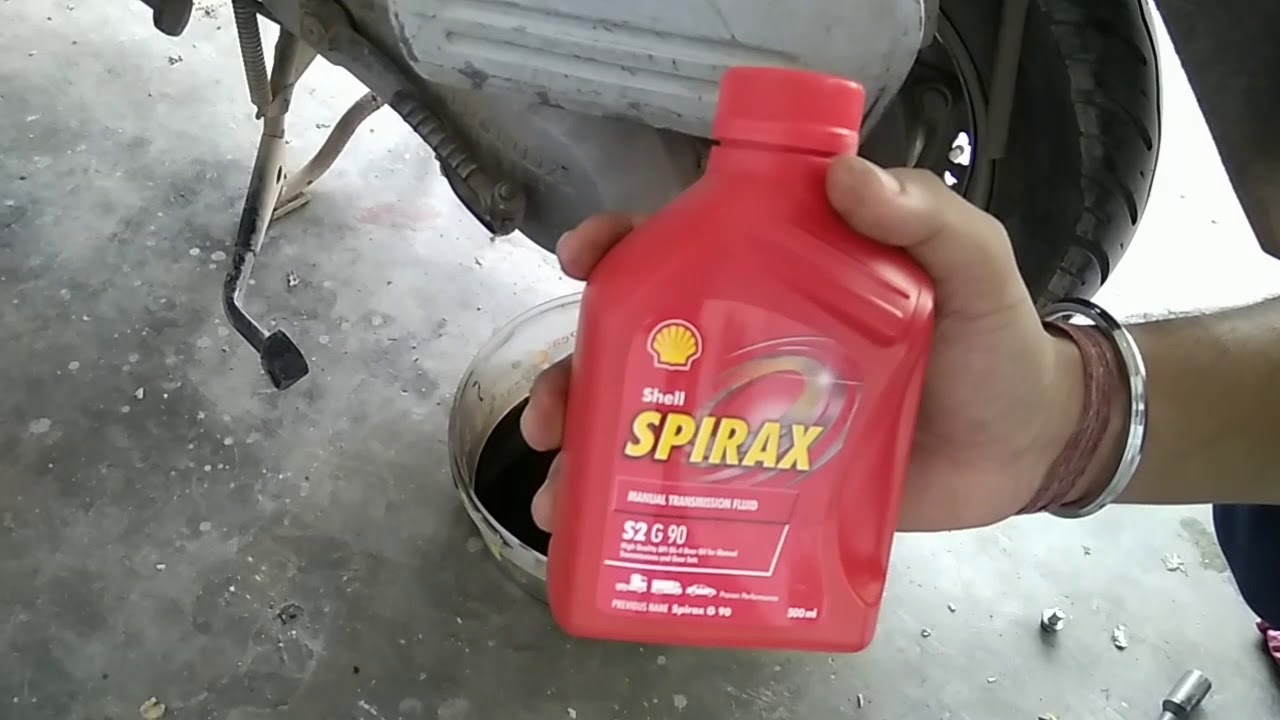Gear Oil Change Of Honda Activa | Any Two Wheeler Scooter