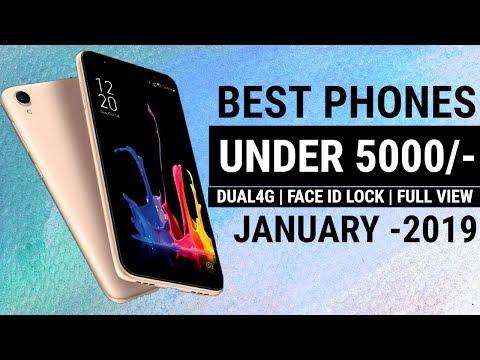 Top 6 Smartphones Under 5000 | 6 Best 4G Budget Smartphones