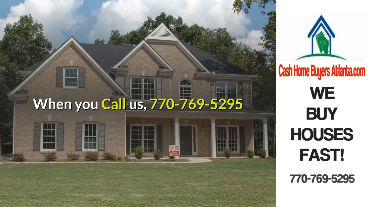 Sell Your Grayson Ga House To A Cash Home Buyer Atlanta For Savings 770 769 5295