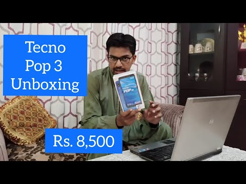 Tecno Pop 3 Unboxing | Rs. 8,500 men Fingerprint Sensor bhi