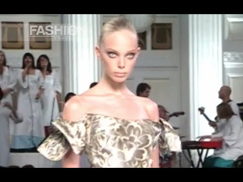 OSCAR DE LA RENTA Spring Summer 2008 New York - Fashion Channel