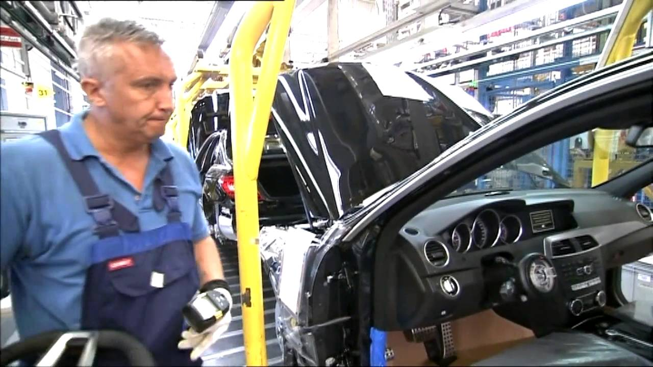 Production mercedes c class w204 plant in sindelfingen for Mercedes benz manufacturing plant in usa