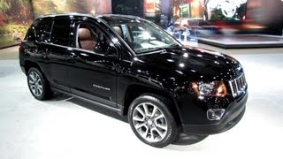 2014 Jeep Compass Limited - Exterior and Interior Walkaround - 2013 New York Auto Show