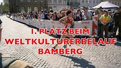 Yeah, Sieg beim Weltkulturerbelauf Bamberg 2017!!!