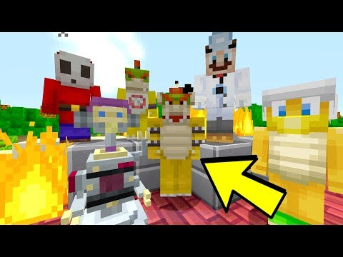 DID BOWSER SURVIVE? Emotional  Nintendo Fun House  Minecraft Switch 227