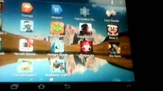 Обзор моих игр на планшете