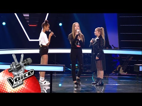 Jade, Laura & Lotte -'Better Now' | The Battles | The Voice Kids | VTM