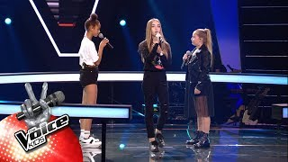 Download Jade, Laura & Lotte -  'Better Now' | The Battles | The Voice Kids | VTM Mp3 and Videos