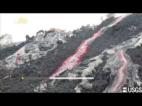 Brave Geologists Caught on Camera Collecting Lava From Live Volcanoes