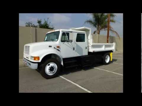 International Crew Cab For Sale >> 1996 International 4700 Crew Cab 10' Dump Truck - YouTube