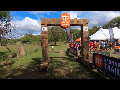 Ragnar Trail Hill Country Texas - Transition Tent (Start/Finish)