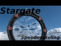 (Speedmodeling)Stargate in Blender