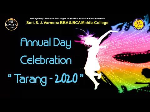 Annual Day Celebration || Tarang  2020 ||