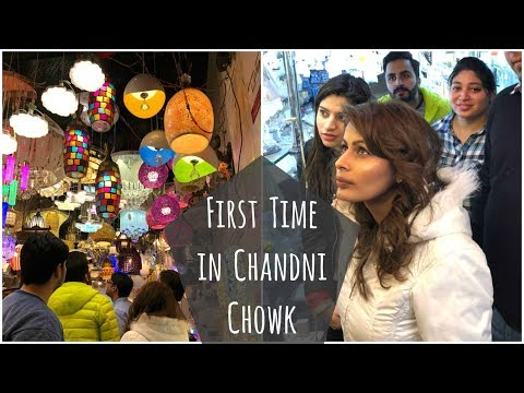 Vlog: INDIAN GIRL Traveling First Time in Delhi Metro & to CHANDNI CHOWK | 10 February 2018 |Kavya K